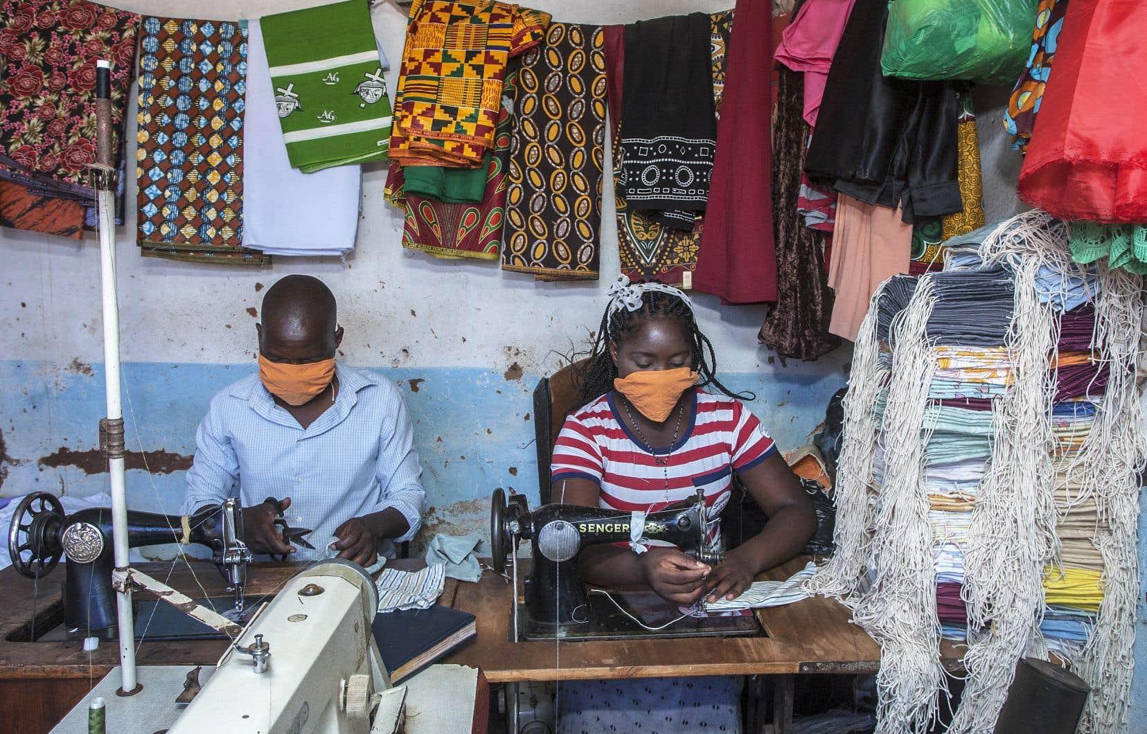 À Lilongwe, la capitale du Malawi, la plupart des gens vivent du commerce informel et de petits boulots qui nécessitent de pouvoir se déplacer.
