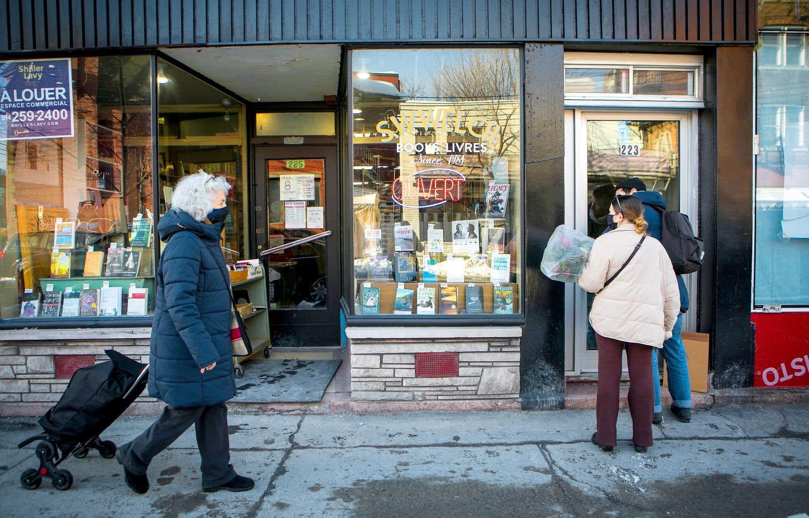 La librairie S.W. Welch, du quartier Mile-End à Montréal, risque la fermeture à la suite d'une hausse de loyer.