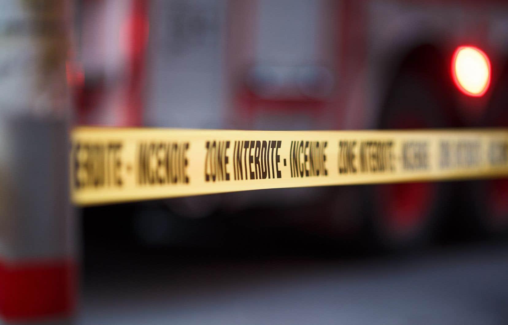 Selon le CIUSS, l'incendie s'est déclaré vers 5h30 à la résidence privée pour aînés Sainte-Anne.