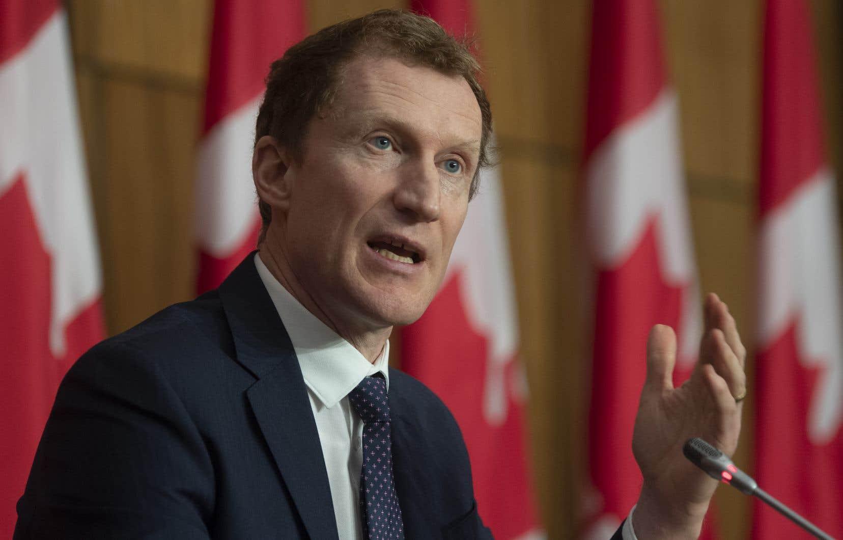 Selon le ministre Marc Miller, c'est une simple question de logistique qui l'a empêché de se joindre à l'annonce de son homologue québécois.