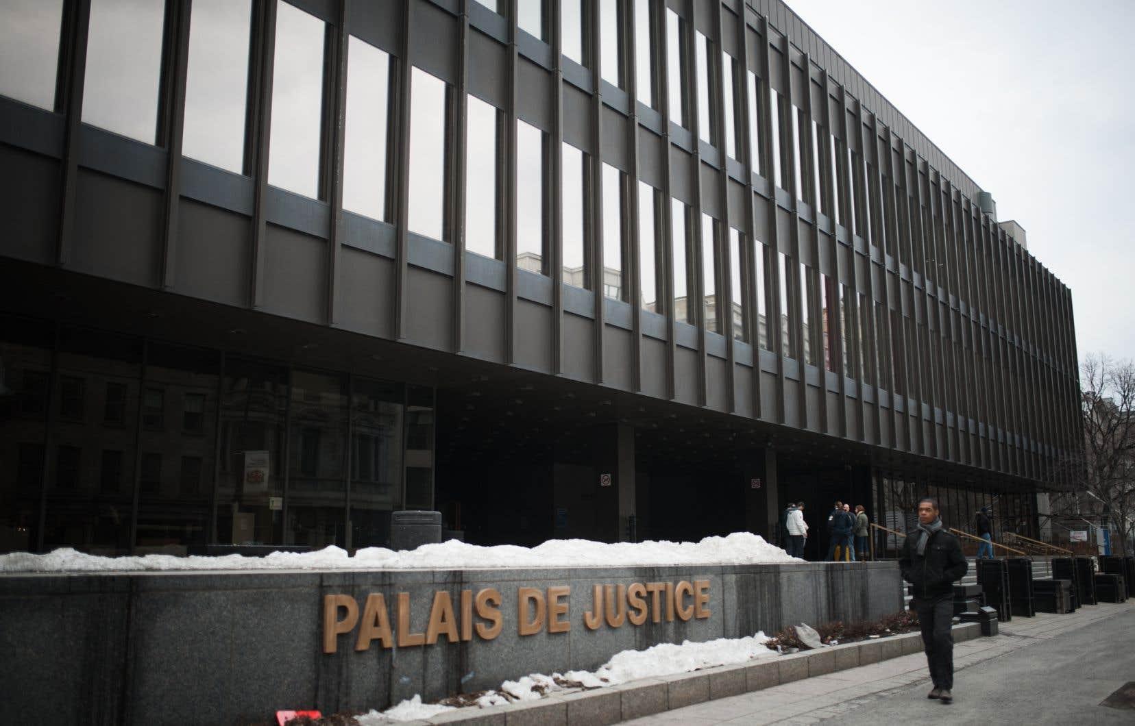 Le procès a eu lieu en décembre au palais de justice de Montréal.