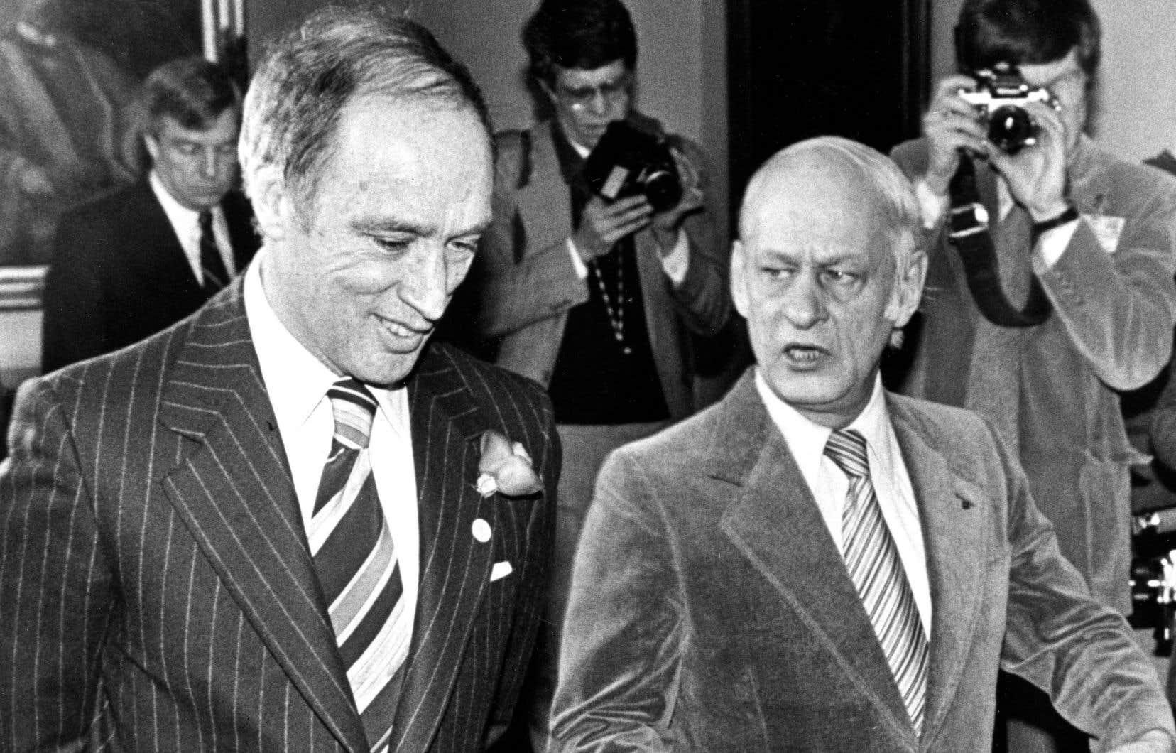 «En fait, M. Trudeau et son gouvernement ont pris toutes sortes de mesures pour soutenir l'économie québécoise à la suite de l'élection du PQ en 1976.», écrit l'auteur.
