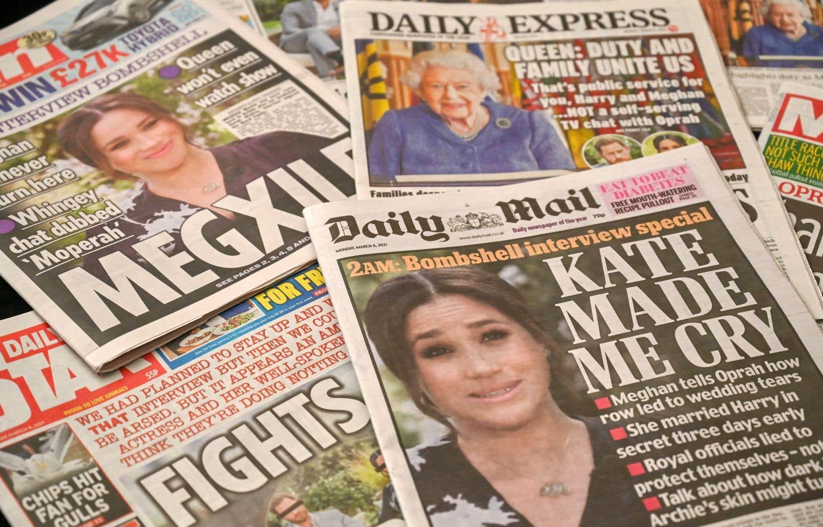Les médias britanniques et étrangers ont décortiqué l'entrevue sous tous ses angles et présenté leur opinion à chaud lundi.