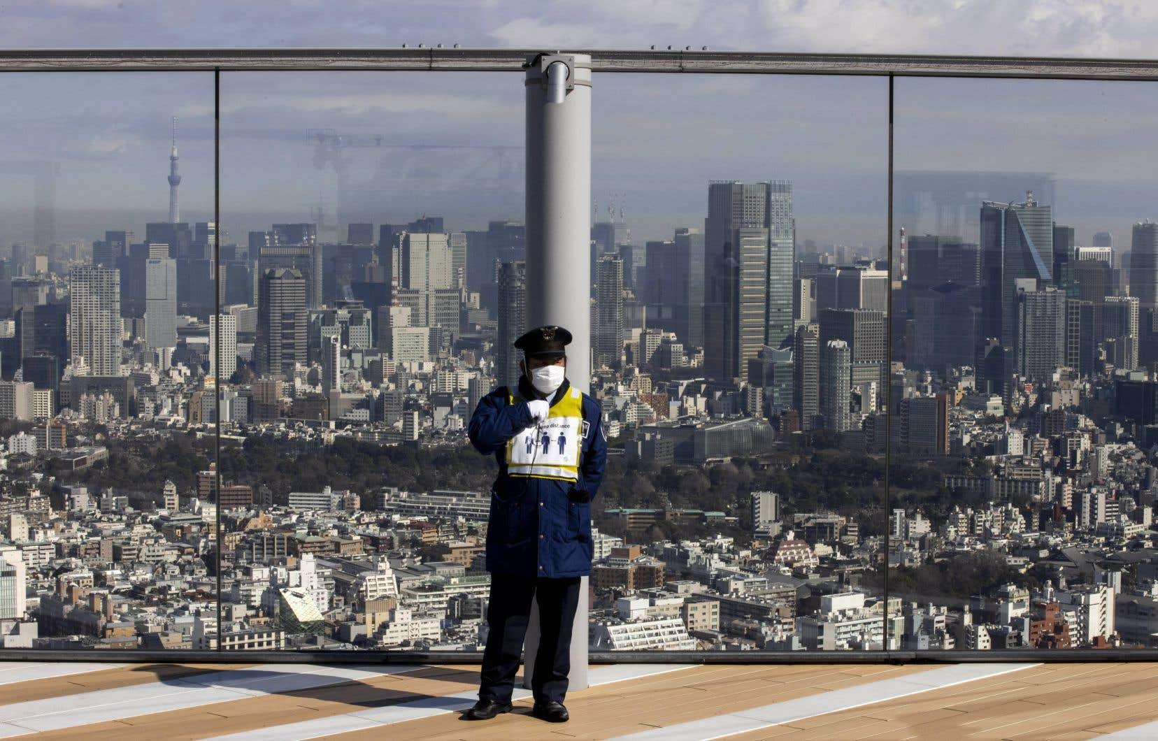 Le gouvernement japonais aurait conclu qu'il n'était «pas possible» de permettre à des supporteurs vivant hors du Japon d'assister aux JO, en raison de la pandémie.