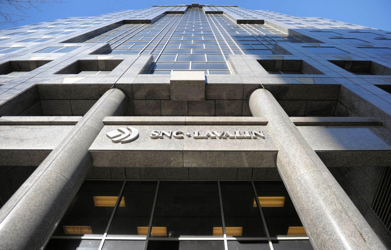En 2020, SNC-Lavalin a réalisé 20% de ses revenus annuels de 7milliards aux États-Unis, son troisième marché en importance derrière le Canada et le Royaume-Uni.