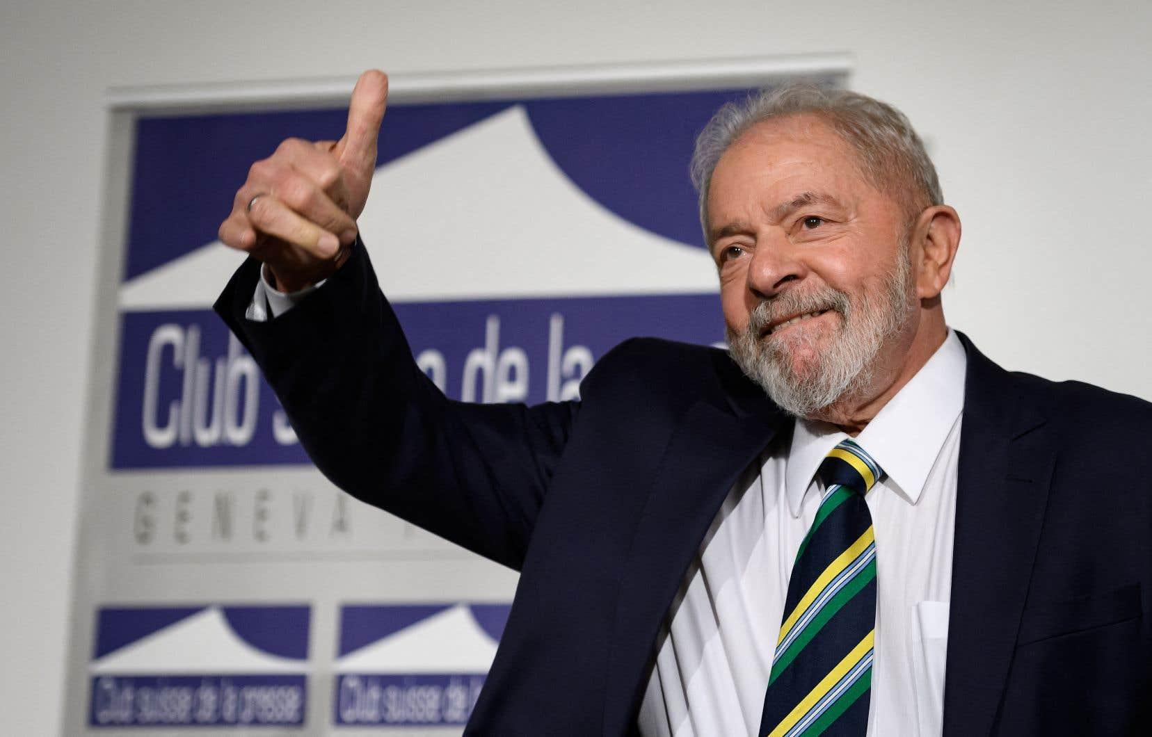 Luiz Inacio Lula da Silva, 75ans, n'a pas été blanchi des accusations de corruption qui pèsent contre lui.