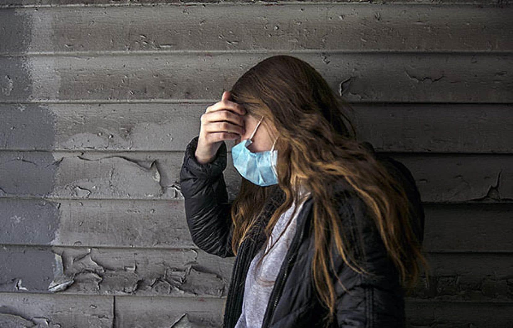 La hausse du nombre de jeunes femmes recevant des antidépresseurs depuis septembre est près de deux fois plus élevée que celle constatée depuis le même mois dans la population générale.