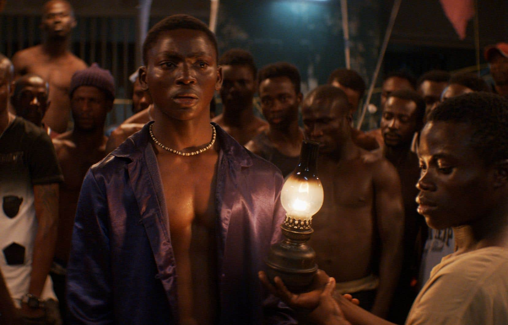 Bakary Koné dans le rôle de Roman, dans«La nuit des rois»