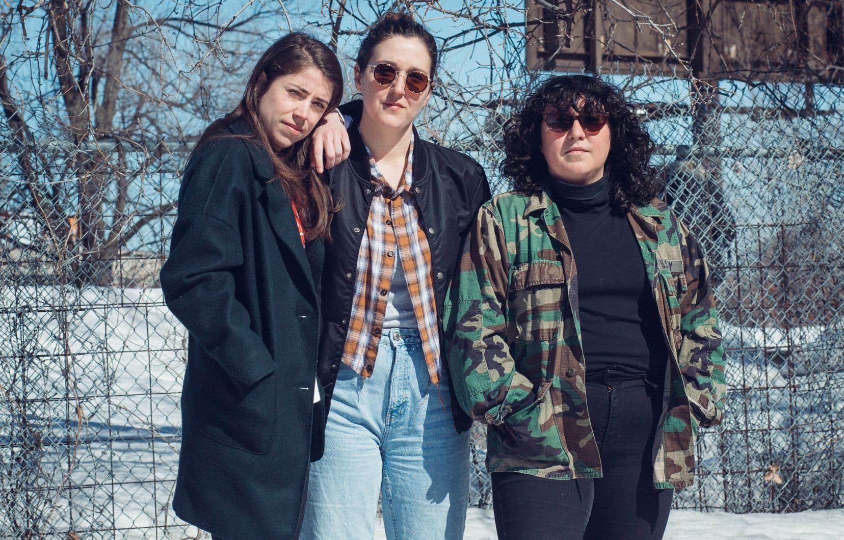 L'attitude de Raphaëlle Chouinard, Lisandre Bourdages et Sarah Dion est indéniablement moderne, même si les références musicales appartiennent à des époques révolues.
