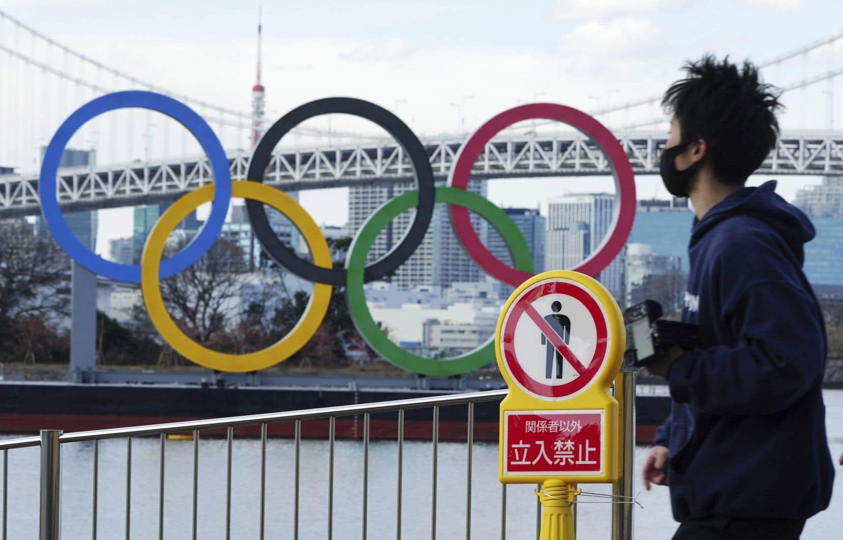 Les Jeux olympiques de Tokyo, déjà reportés d'un an en raison de la pandémie, doivent avoir lieu cet été.