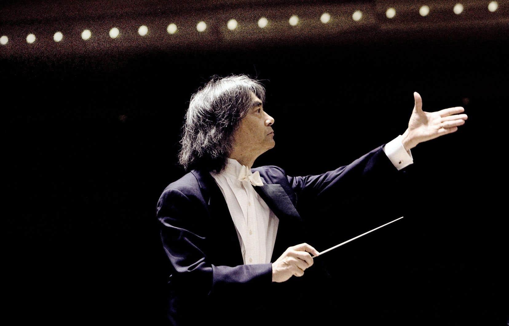 Le chef émérite de l'Orchestre symphonique de Montréal, Kent Nagano