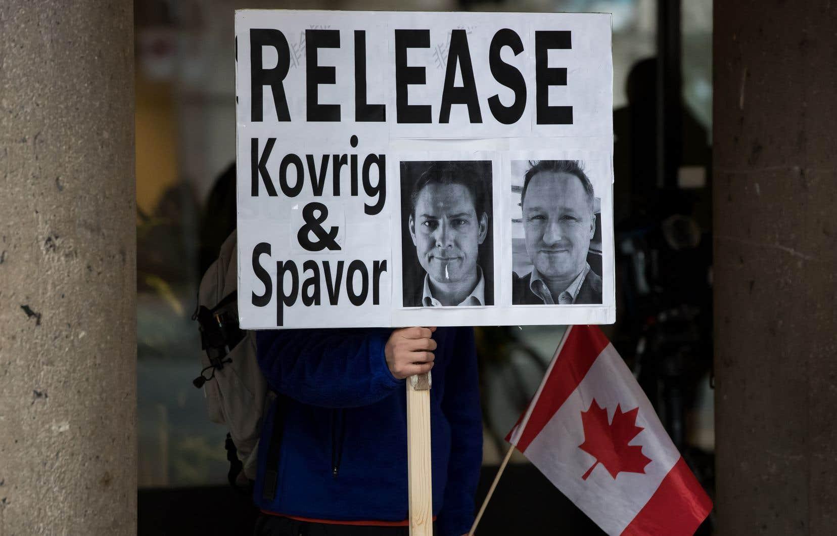 Michael Kovrig et Michael Spavor sont détenus en Chine depuis décembre 2018.