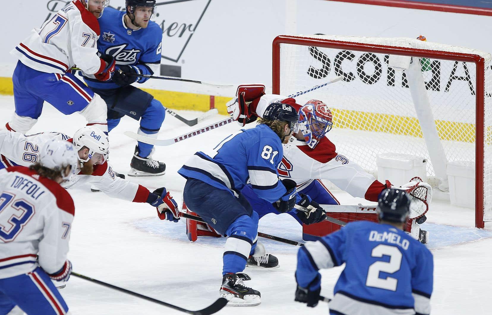 Le Canadien s'est tiré dans le pied en première moitié de rencontre, multipliant les revirements en sortie de zone.