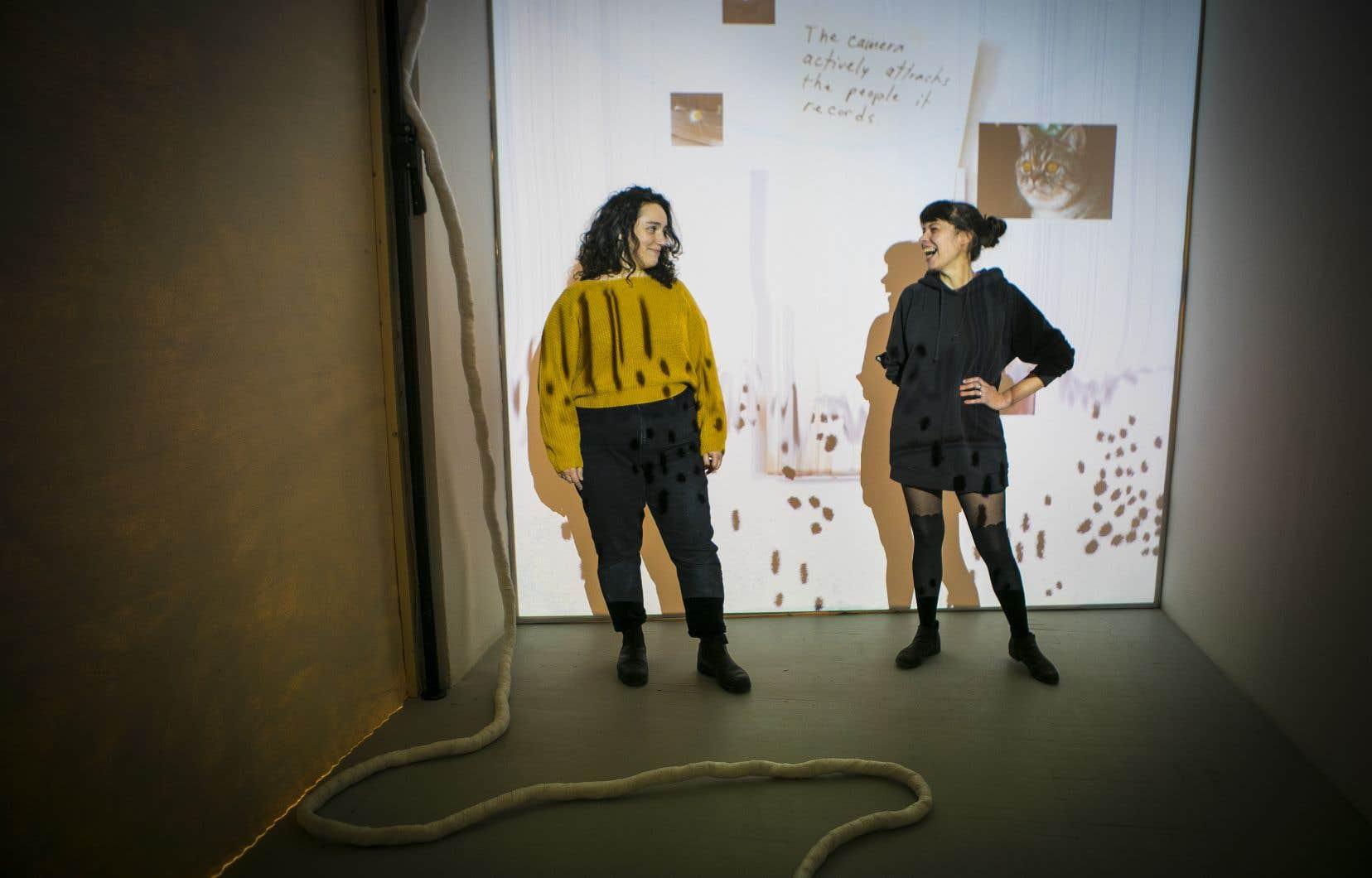 Carolyne Scenna (à gauche) et Isabelle Guimond confient avoir attendu à la dernière minute pour choisir ce qu'elles allaient présenter et comment. La confiance est reine.