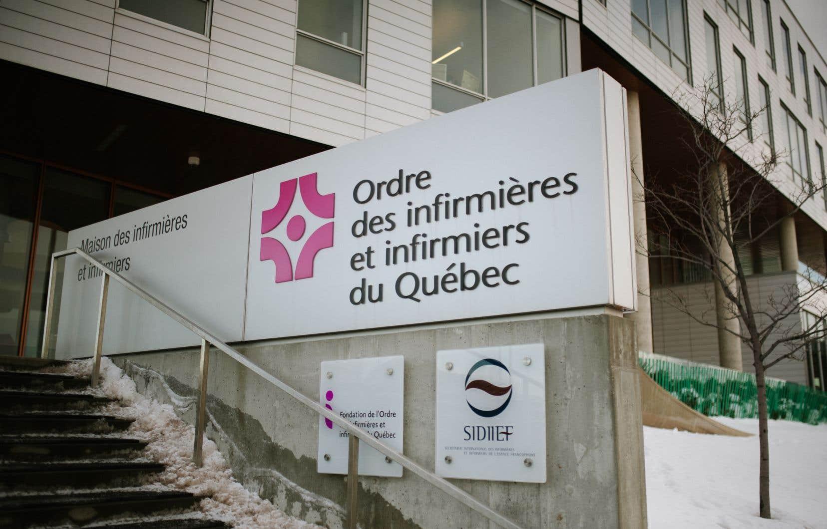 L'Ordre des infirmières et infirmiersdu Québec assureque «les vérifications d'usage» seront faites.