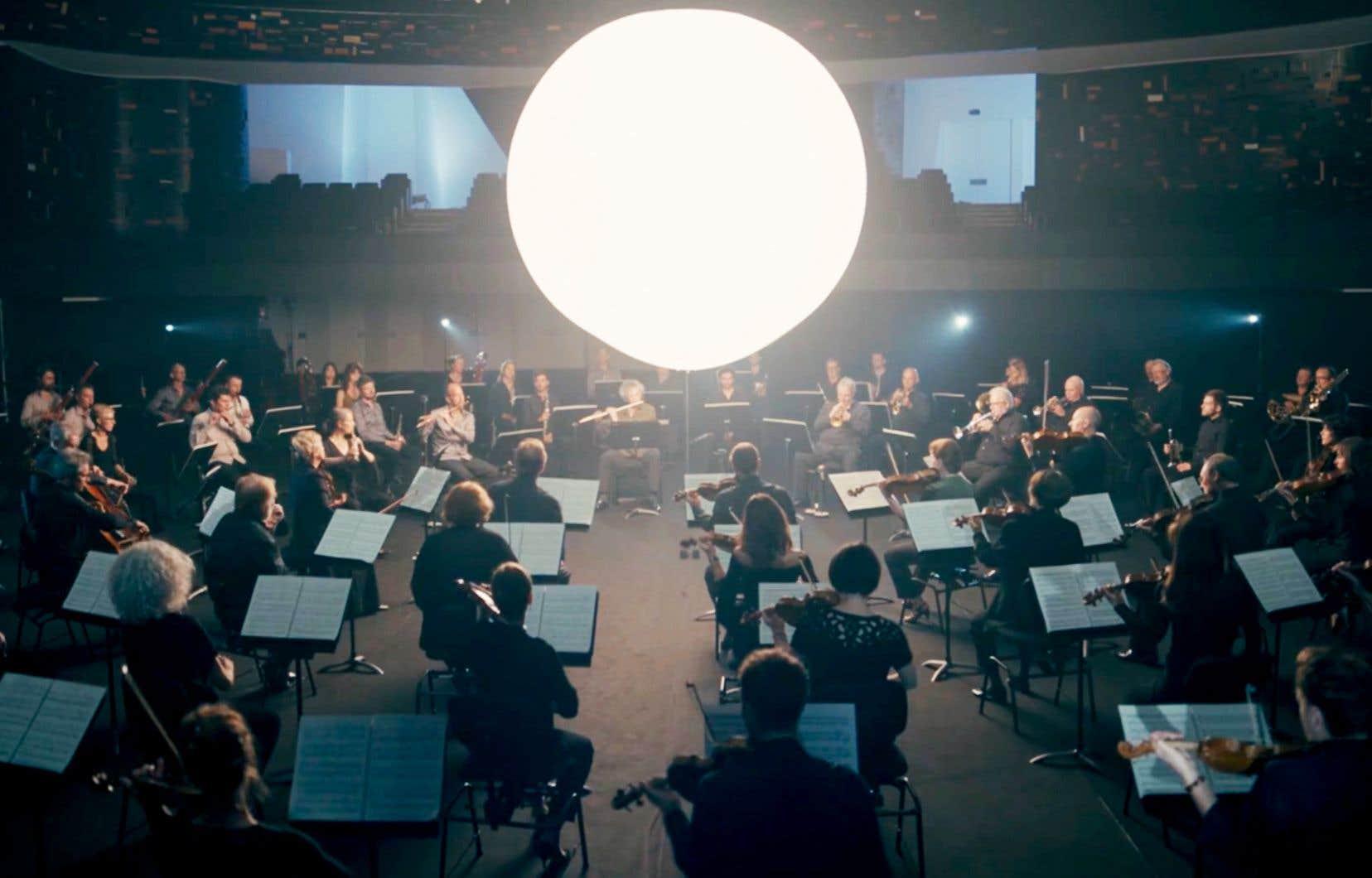 Image tirée du film «Quinte et sense: les éléments philharmoniques»
