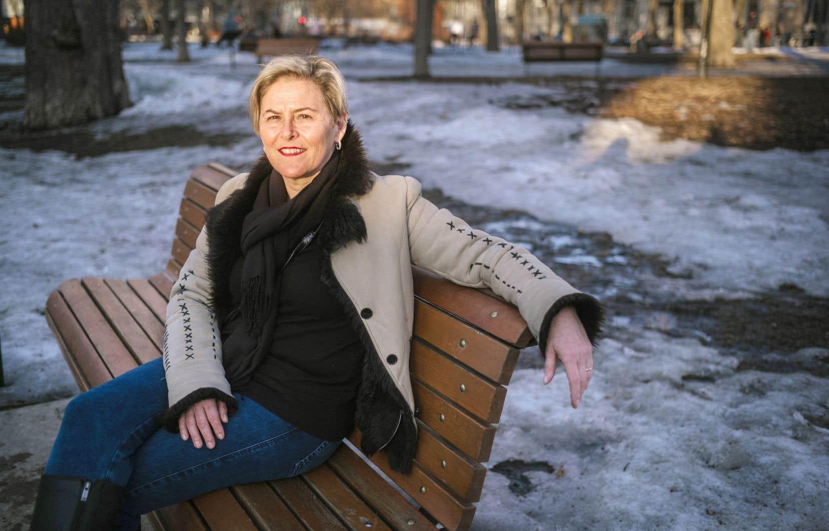 Diane Francoeur retournera dès le 12 avril auprès de ses patientes, au département d'obstétrique du CHU Sainte-Justine.