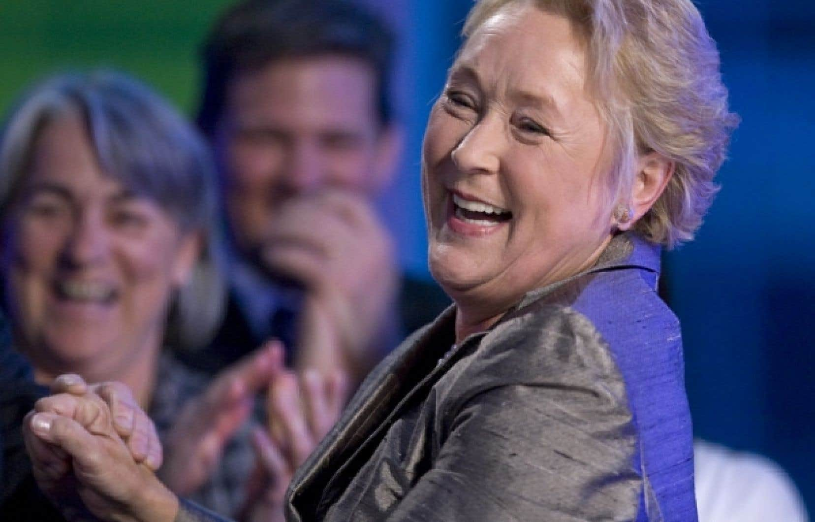 Le Parti québécois, a déclaré Pauline Marois, c'est «quelque chose comme un grand parti».