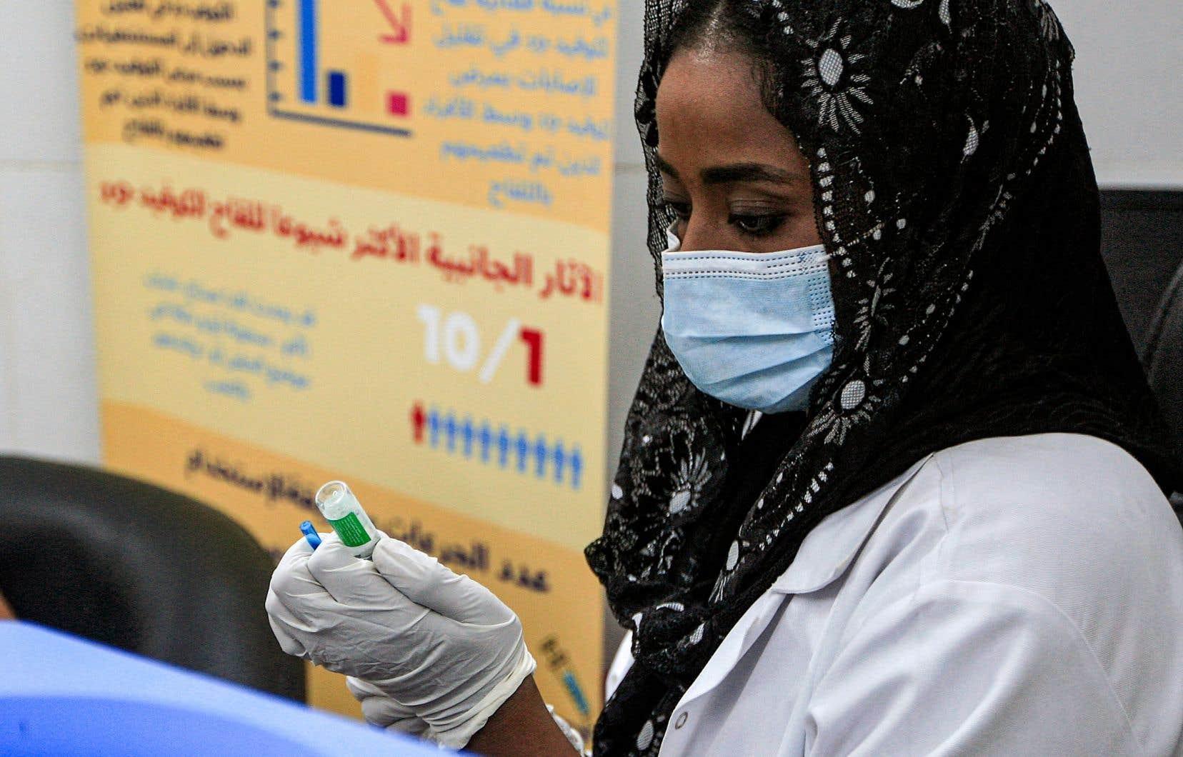 Globalement, seulement 0,1% des doses administrées dans le monde l'ont été dans des pays à «faible revenu», comme ici au Soudan.