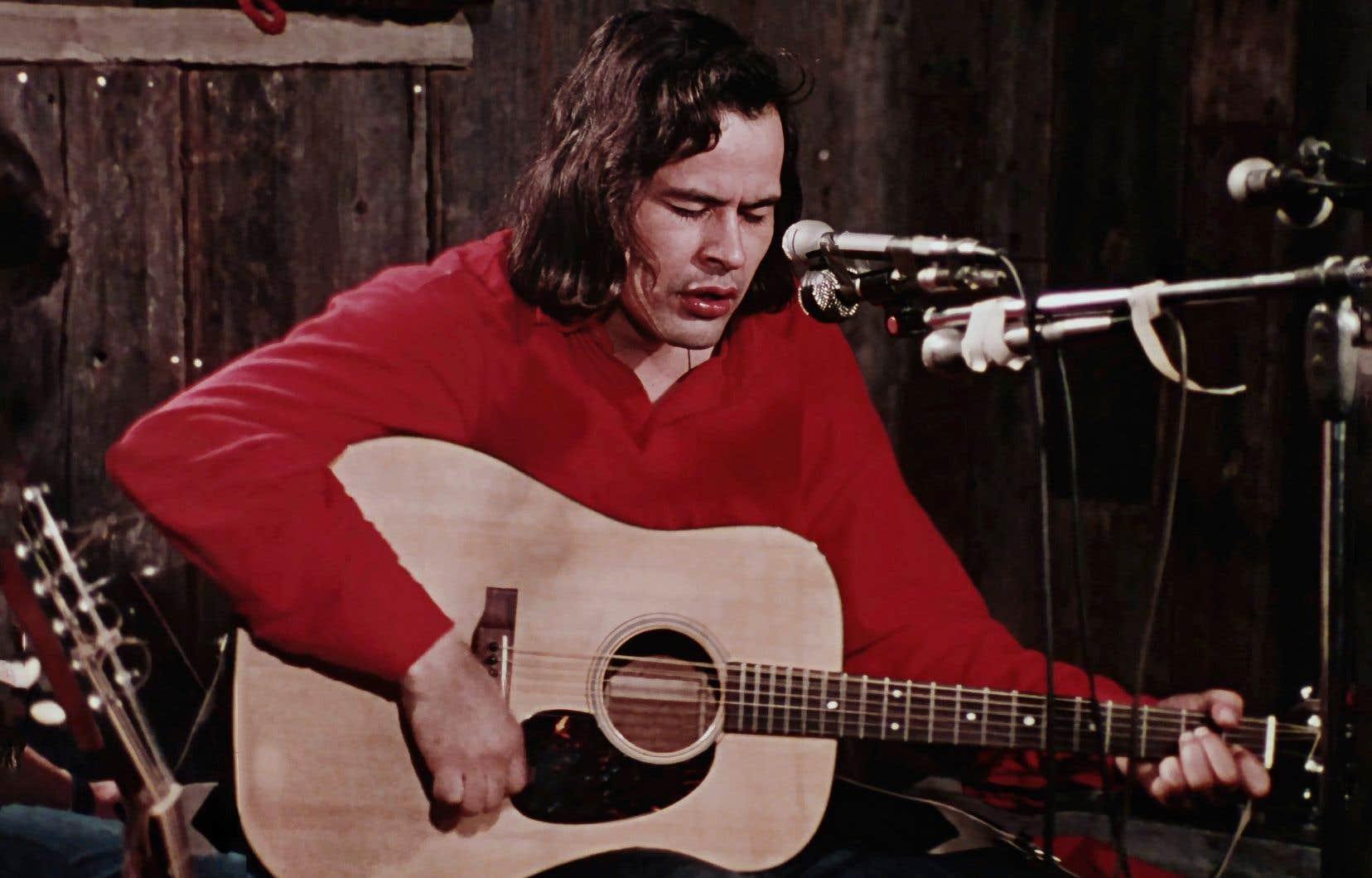 Une image tirée du film «Amisk» d'Alanis Obomsawin en 1977
