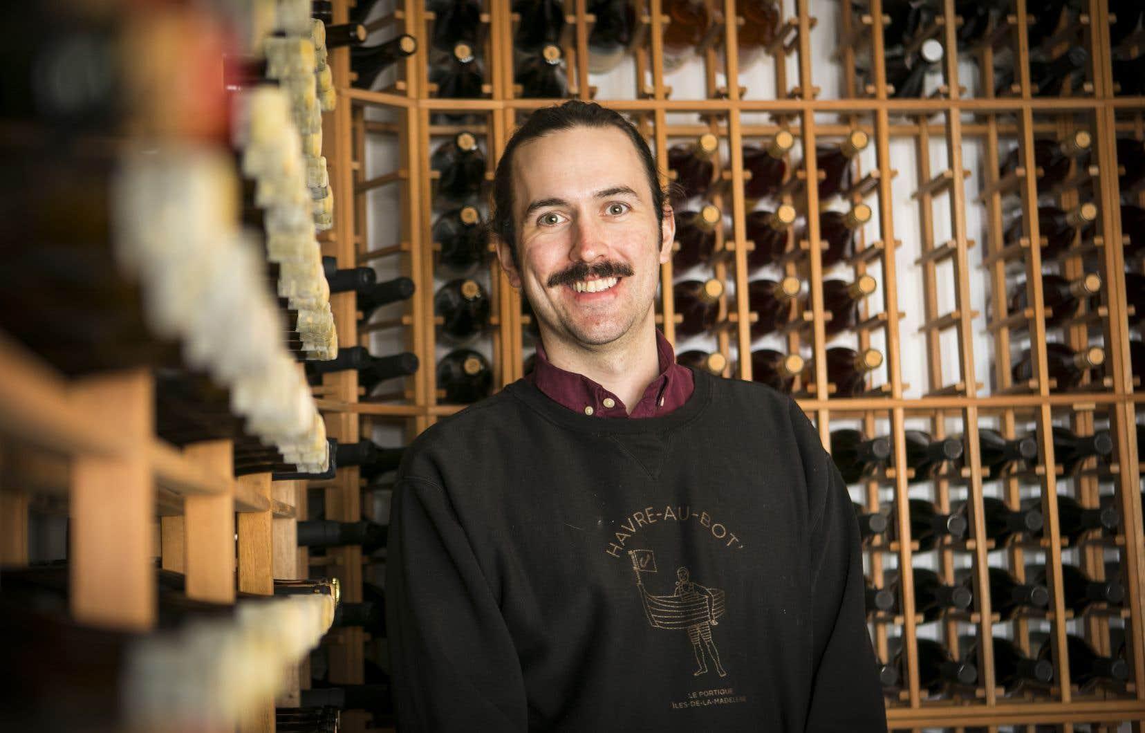 Vincent Laniel, sommelier au restaurant Candide