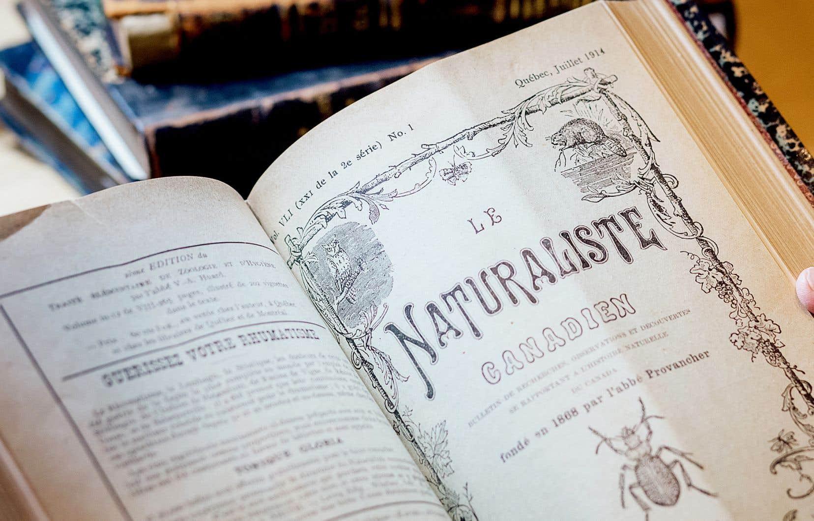 «Le Naturaliste canadien» a été déterminant pour le frère Marie-Victorin, ayant d'abord eu valeur de référence importante à ses yeux et ayant ensuite publié ses premiers articles scientifiques.