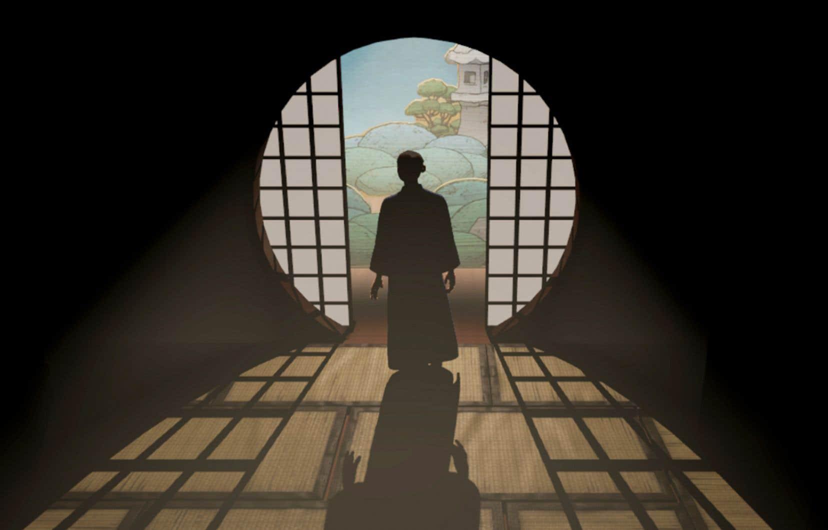 «Le livre de la distance», par Randall Okita, produit par l'Office national du film du Canada, 2020. Réalité virtuelle, 25 minutes, français, anglais, japonais, coréen.