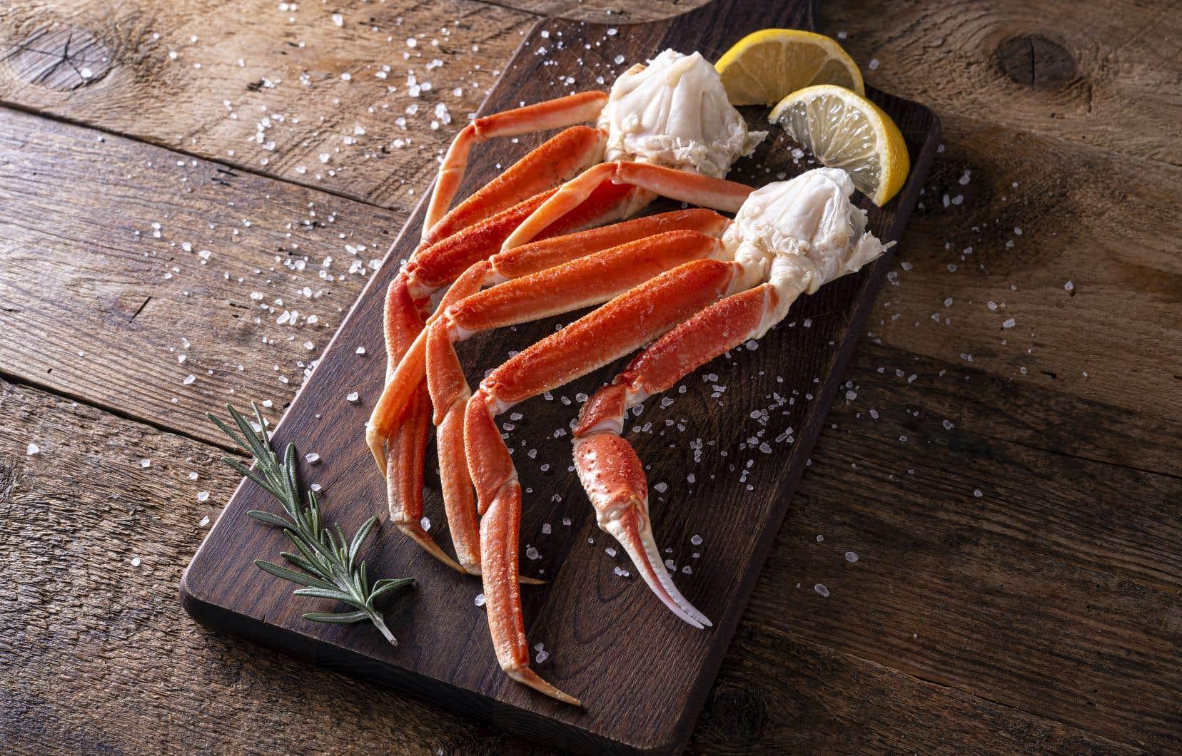 Le savoureux crabe des neiges pêché dans le golfe et l'estuaire du Saint-Laurent est de retour!
