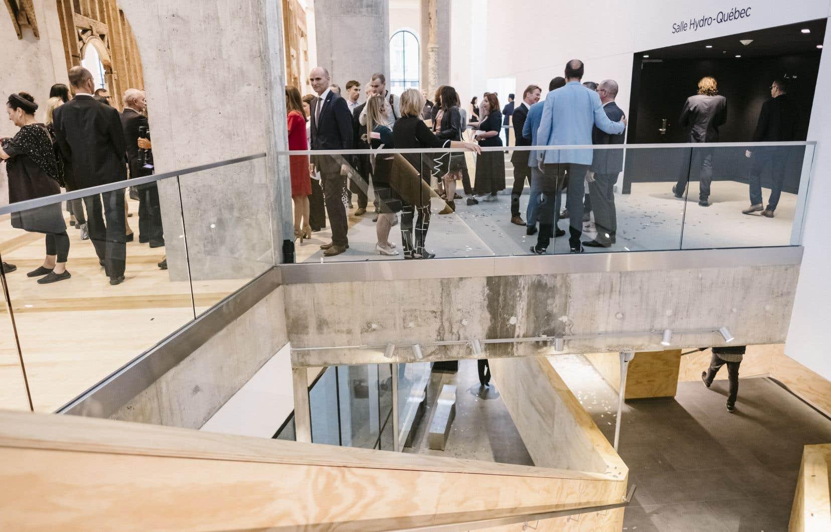 La salle Le Diamant à Québec. Chez les habitués, les propositions artistiques numériques de la pandémieont suscité peu d'intérêt.