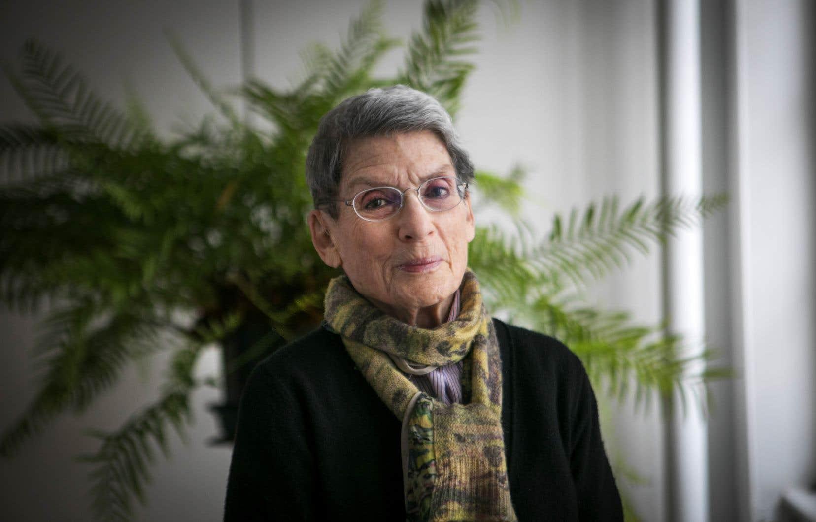 La fondatrice du Centre canadien d'architecture, Phyllis Lambert, juge défavorablement les propositions décrites par Denis Coderre dans son livre «Retrouver Montréal».