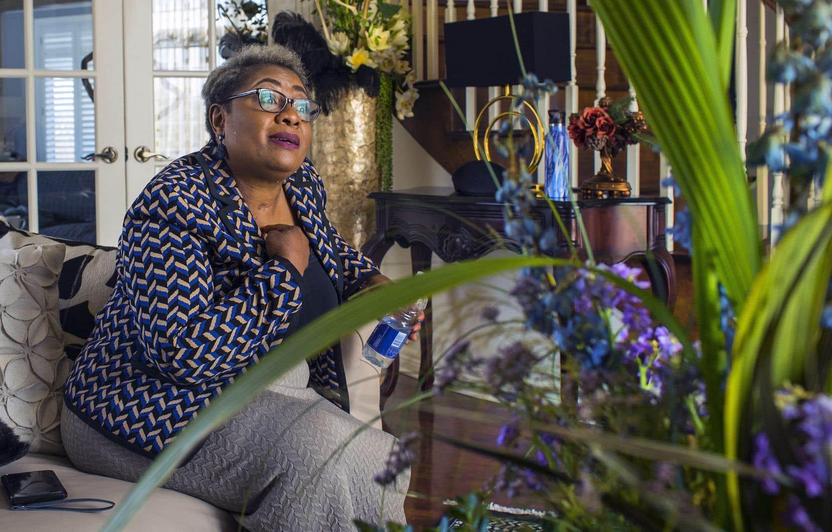 Suzy Makengo Ndelo a été intubée pendant 78 jours aux soins intensifs de l'Hôpital général juif.