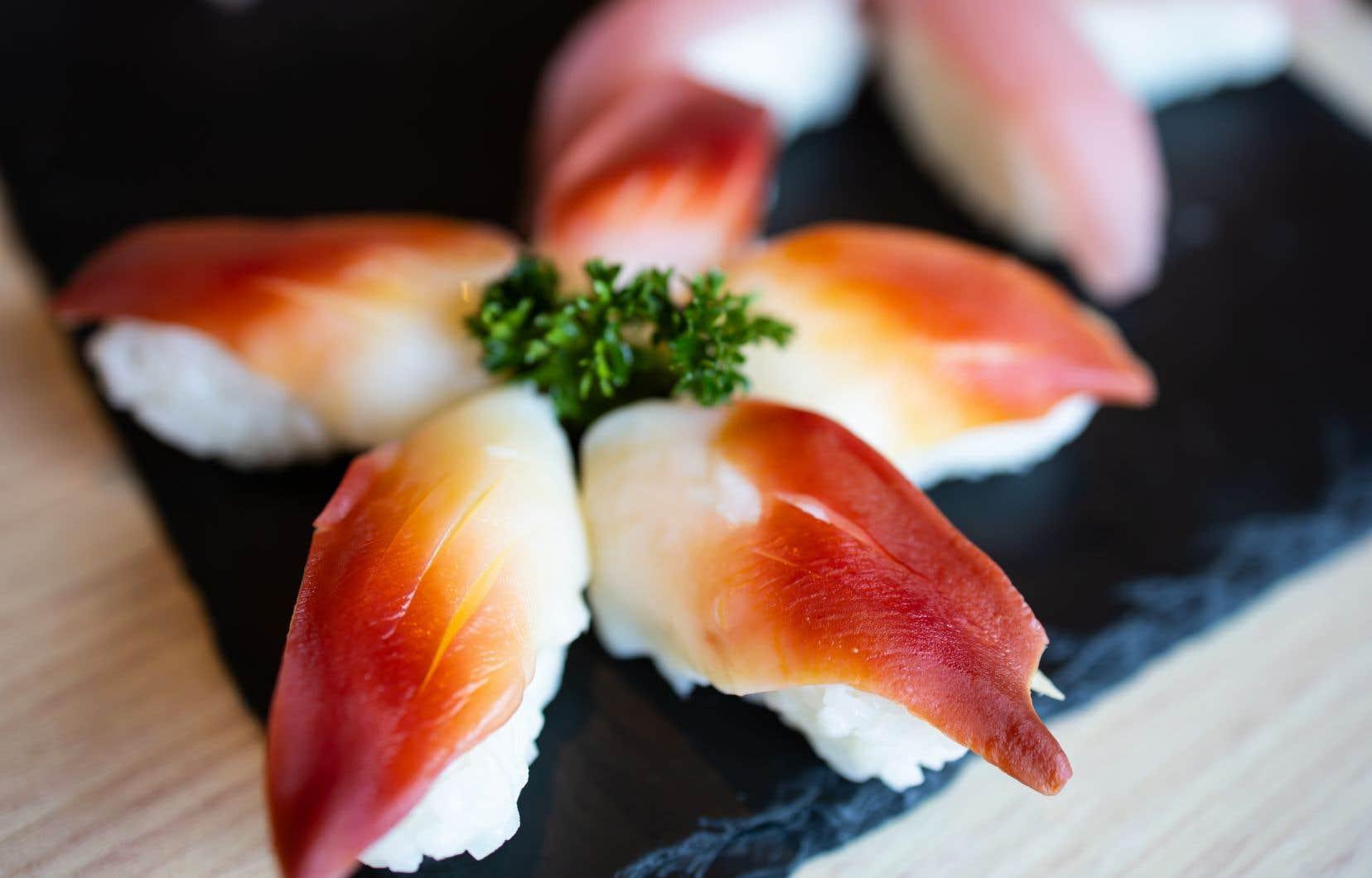 Le pied de la mactre de Stimpson, la partie la plus délicate, est notamment utilisé pour les sushis et les nigiris.