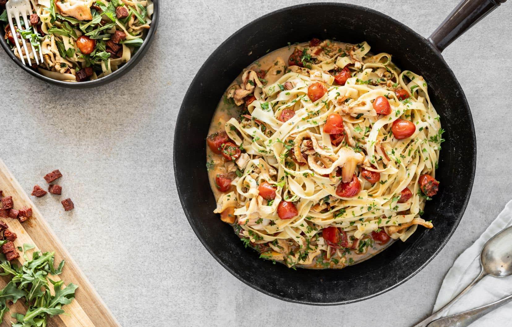 Une recette pour mettre en valeur le mollusque, dont le goût se rapproche du homard et du pétoncle.