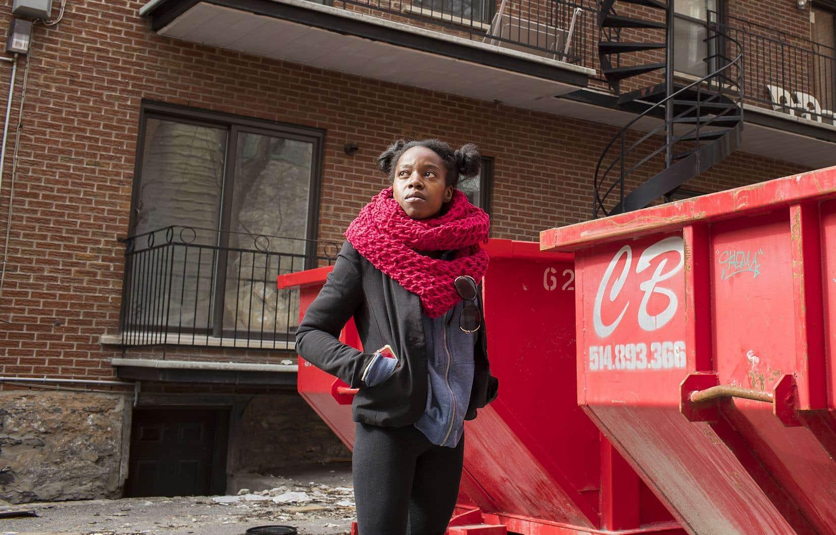 Jessica Louisé se bat depuis 2019 pour rester dans son logement de Ville-Marie à un peu plus de 600$. Mais si c'était à refaire, elle n'est pas si sûre qu'elle replongerait dans cette spirale: «Ça prend beaucoup de patience, ça demande d'accepter de se faire cracher au visage. Ça m'a démolie psychologiquement.»