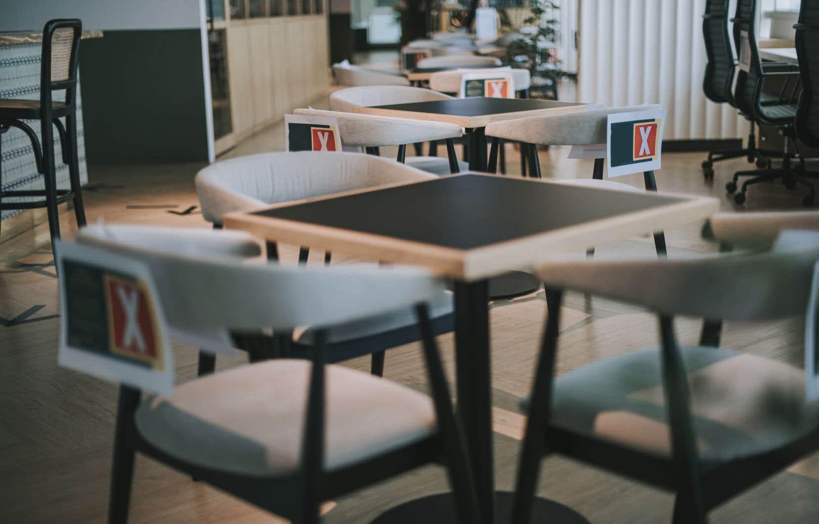 En matière de ventilation, seules les exigences habituelles du Code du bâtiment s'appliquent dans une foule de milieux, comme le secteur manufacturier, les restaurants ou les centres d'entraînement.