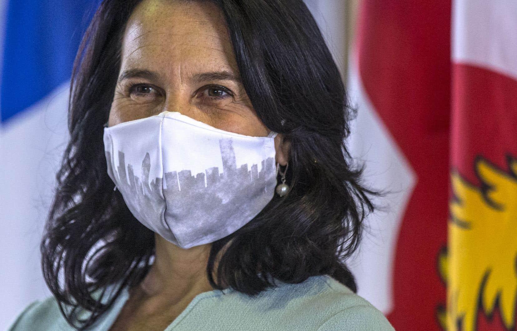Malgré la pandémie,la mairesse estime que son administration a réussi à «garder le cap» sur la réalisation de la plateforme électorale sur laquelle elle s'est fait élire en 2017.