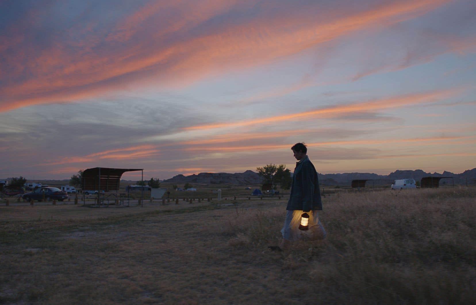 Déjà sacrée aux Golden Globes fin février, Chloé Zhao, réalisatrice de «Nomadland» (en photo), apparaît désormais en position de force pour les Oscars.