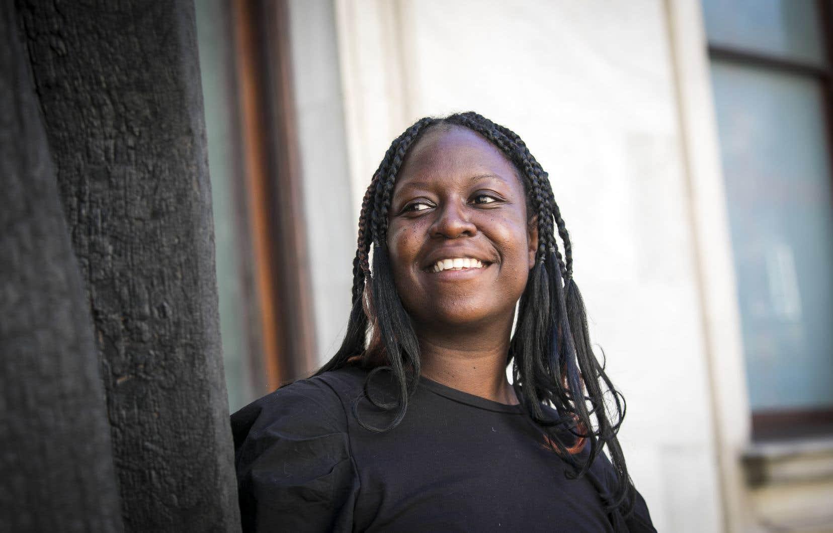 Eunice Bélidor, la nouvelle conservatrice du Musée des beaux-arts de Montréal, œuvre dans le milieu de l'art contemporain au Québec depuis sept ans.