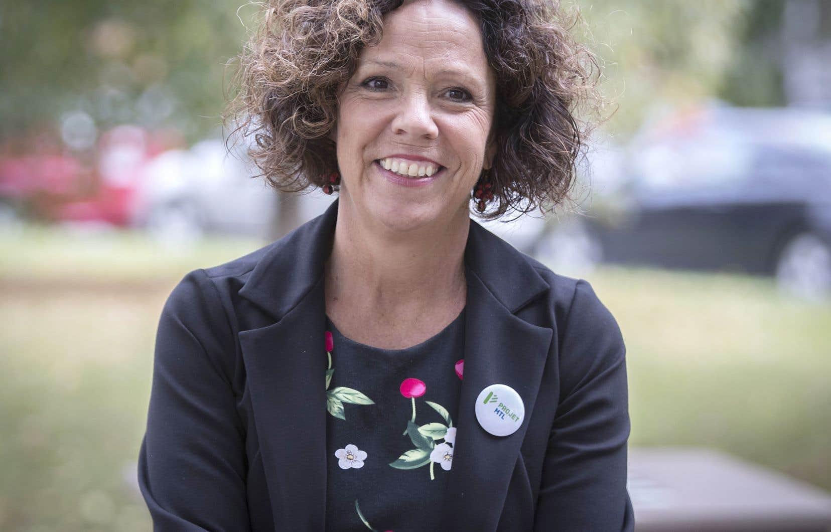 La mairesse de Côte-des-Neiges–Notre-Dame-de-Grâce, Sue Montgomery