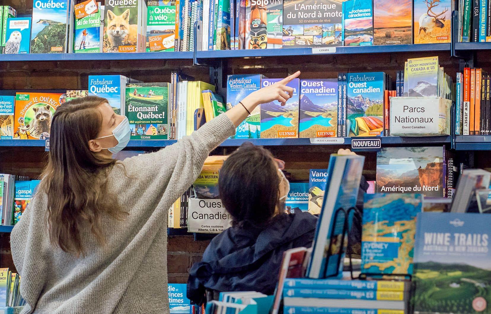 Dans la dernière année, le chiffre d'affaires de la librairie spécialisée Ulysse a connu une baisse de 50%.