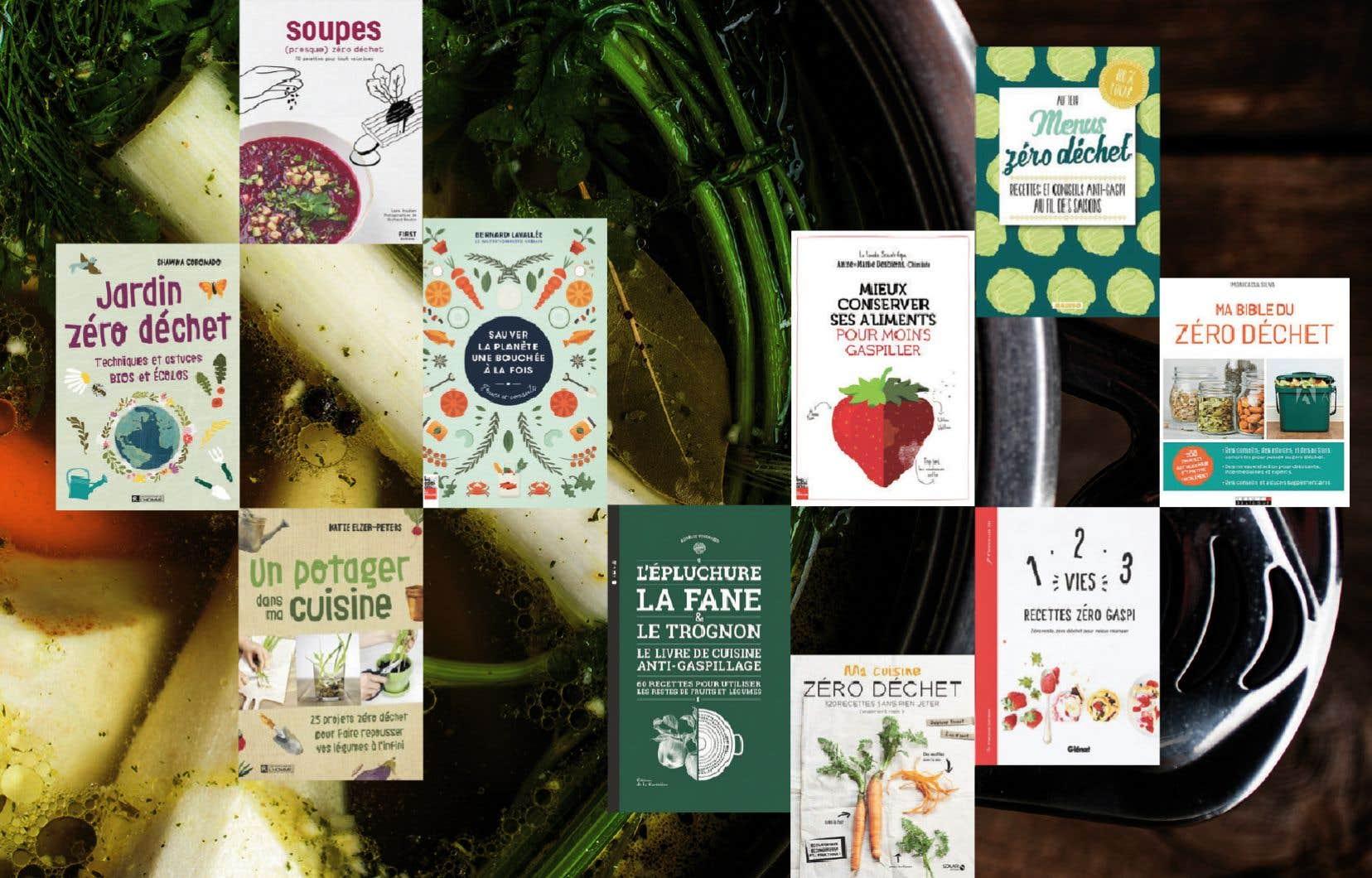 Les ouvrages pour lutter contre le gaspillage alimentaire ont envahi les rayons des librairies ces dernières années.