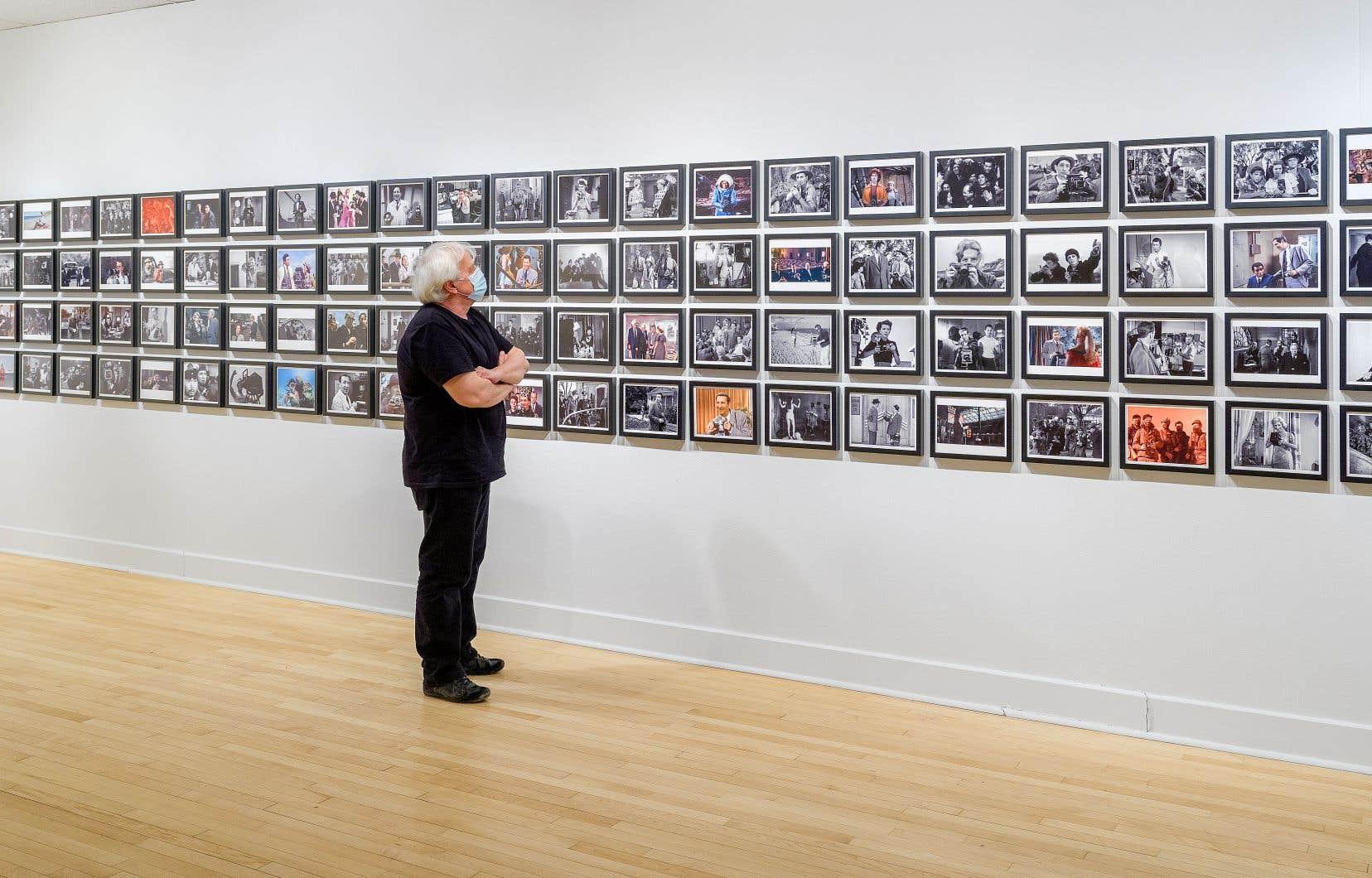 Vue de «Chuck Goes to the Movies» de la série «Before Photography», 2010, à la galerie Plein Sud