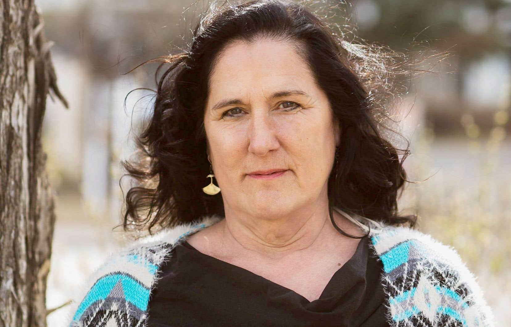 La romancière inuite Norma Dunning