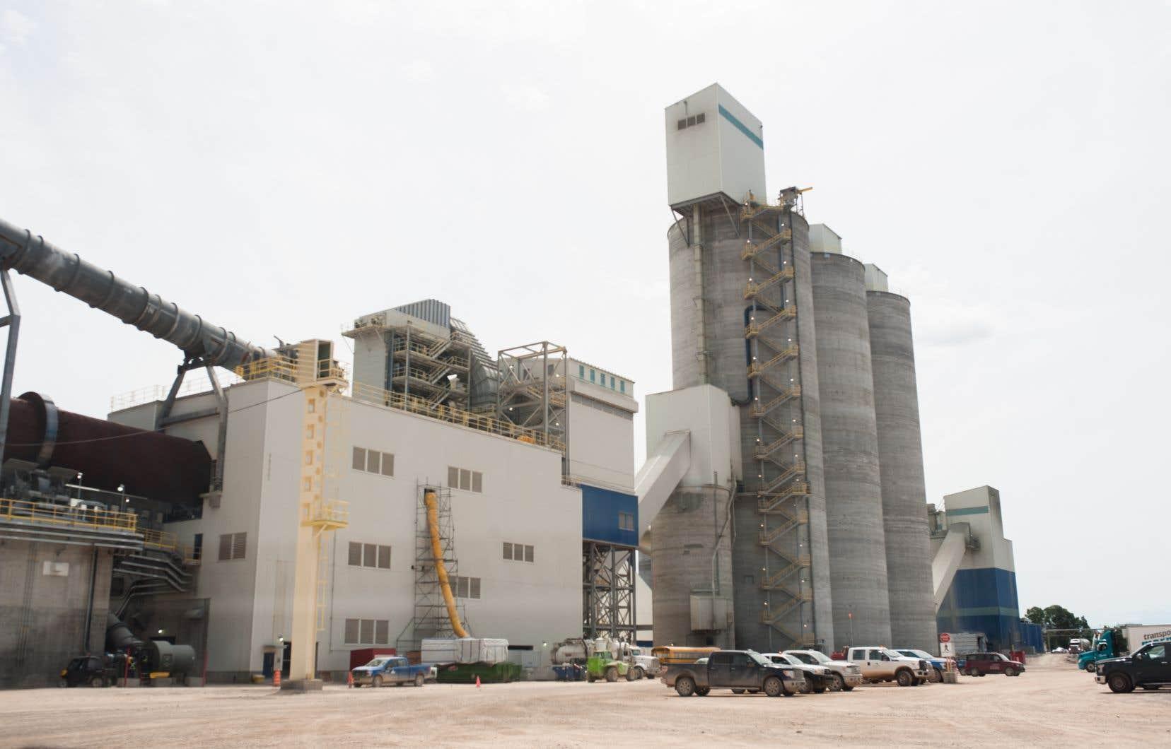 En date du 31décembre dernier, l'évaluation de l'investissement de la CDPQ dans Ciment McInnis oscillait entre 50 et 100millions de dollars