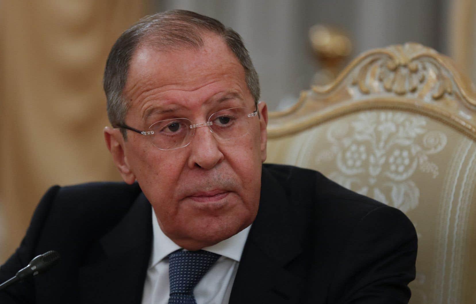 Le chef de la diplomatie russe, Sergueï Lavrov, a notamment annoncé vendredi l'expulsion prochaine de dix diplomates américains.