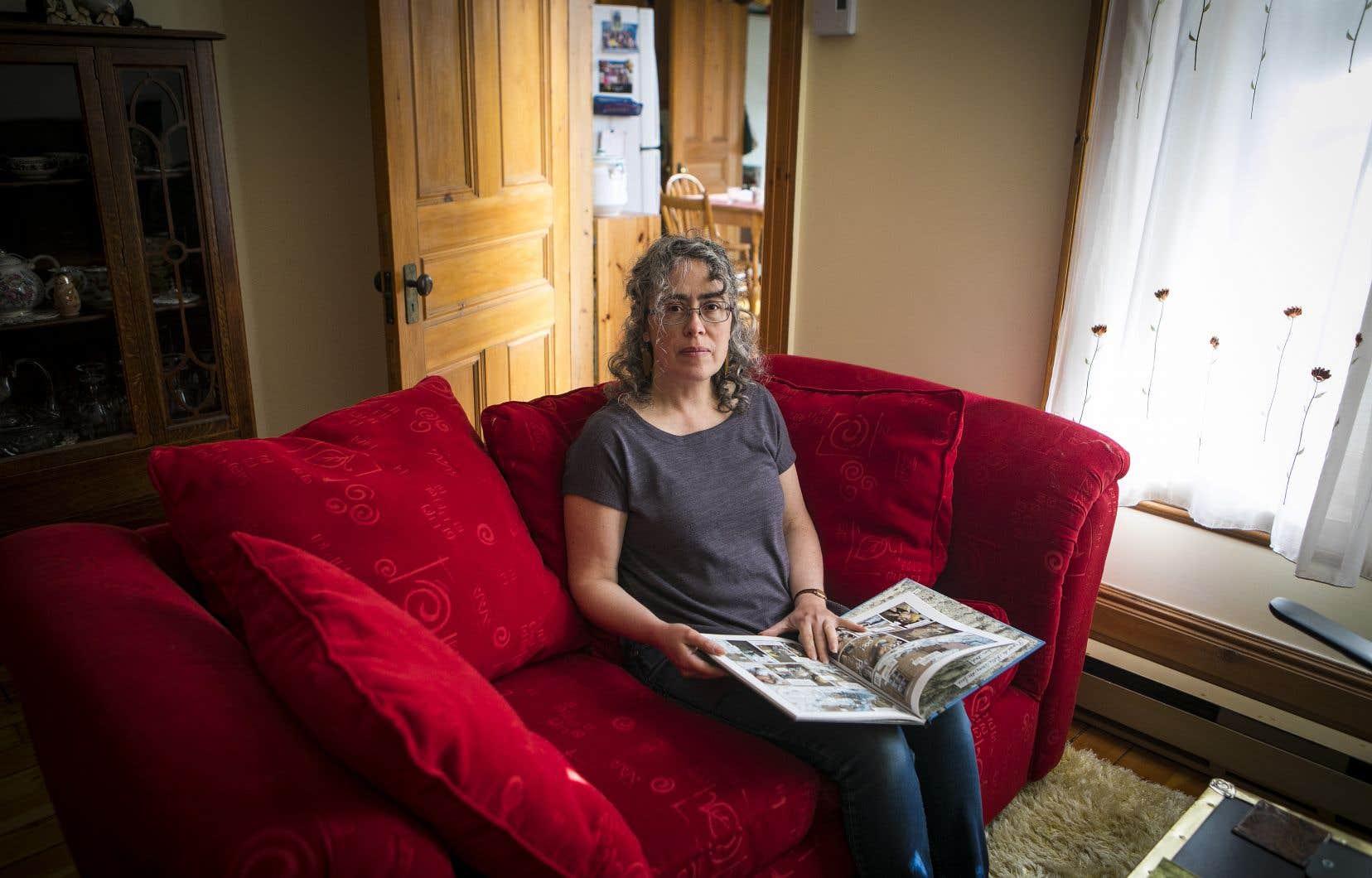 Alors qu'on estime que plus de 10% des personnes infectées développeront une COVID longue durée, ce qui représente à ce jour au moins 33000 Québécois, les besoins de prise en charge sont criants. Sur la photo, Violaine Cousineau, victime d'une COVID longue durée depuis six mois.