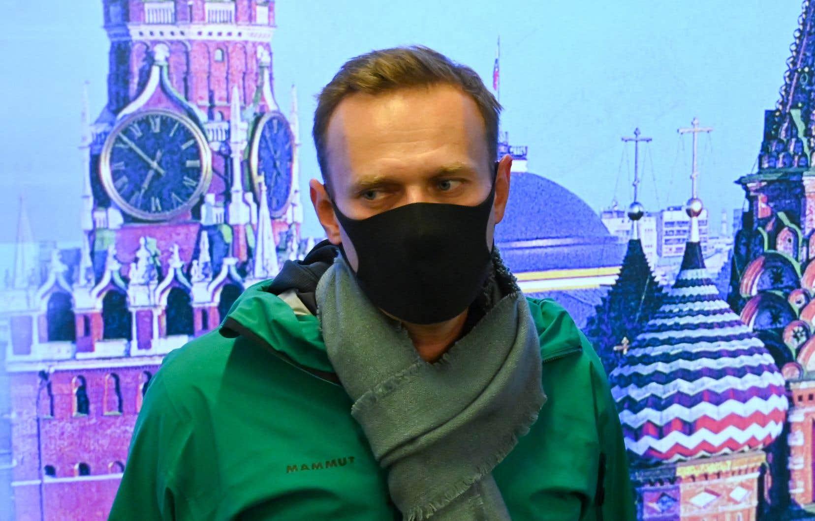 L'opposant russe Alexeï Navalny est en grève de la faim depuis trois semaines.