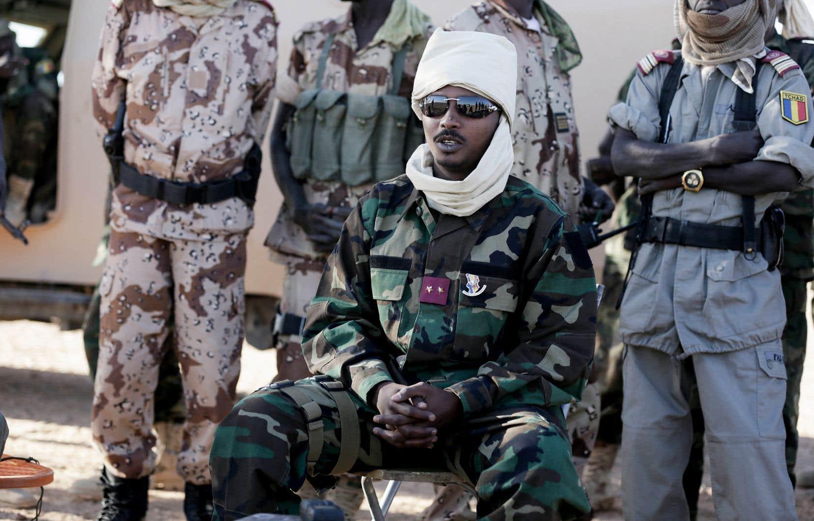 Mahamat Idriss Déby, photographié ici en 2013, est le nouvel homme fort du Tchad: il prend la tête d'une junte militaire et concentre tous les pouvoirs.