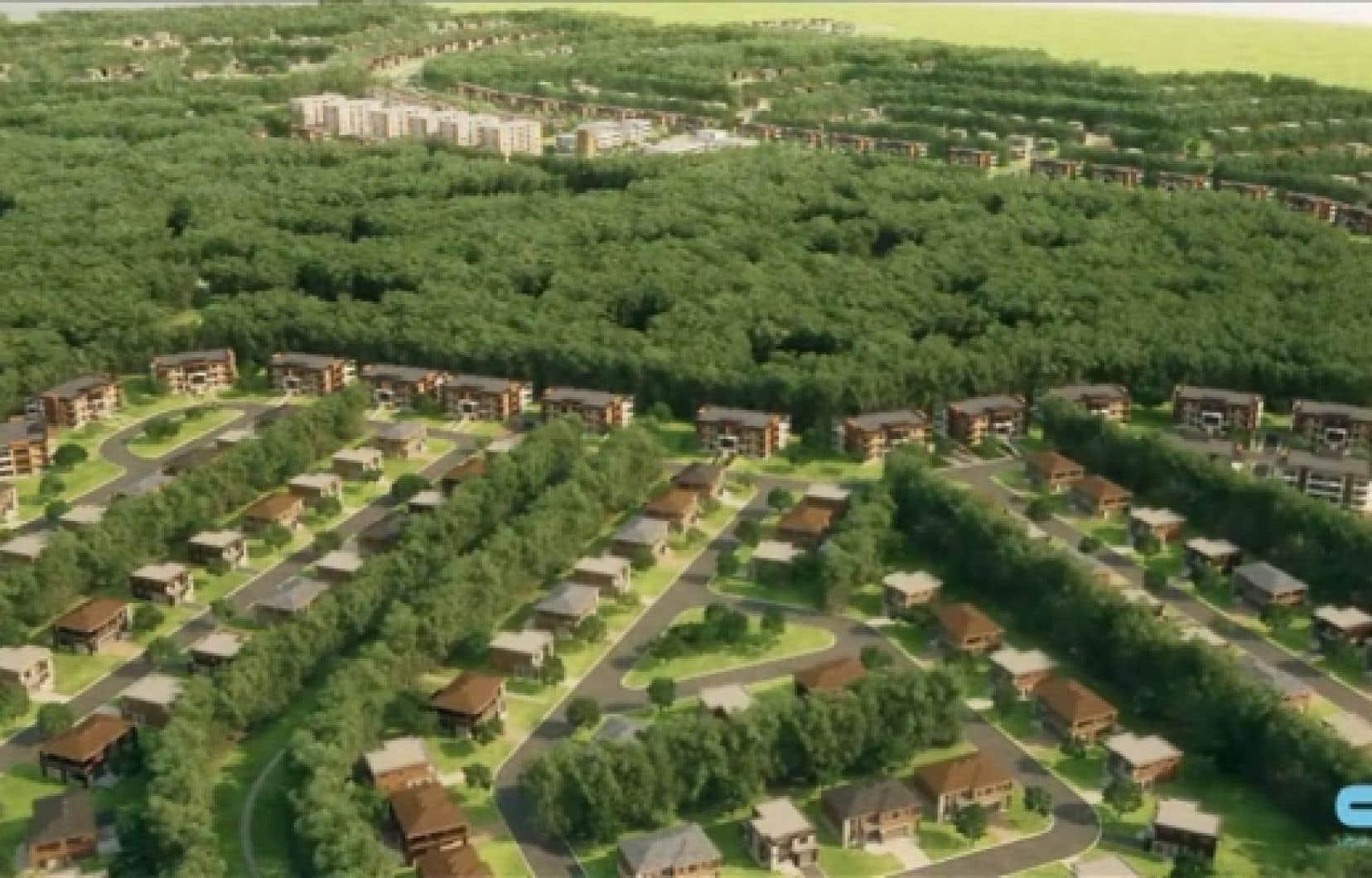 Le futur quartier Le Chambéry, à Blainville.