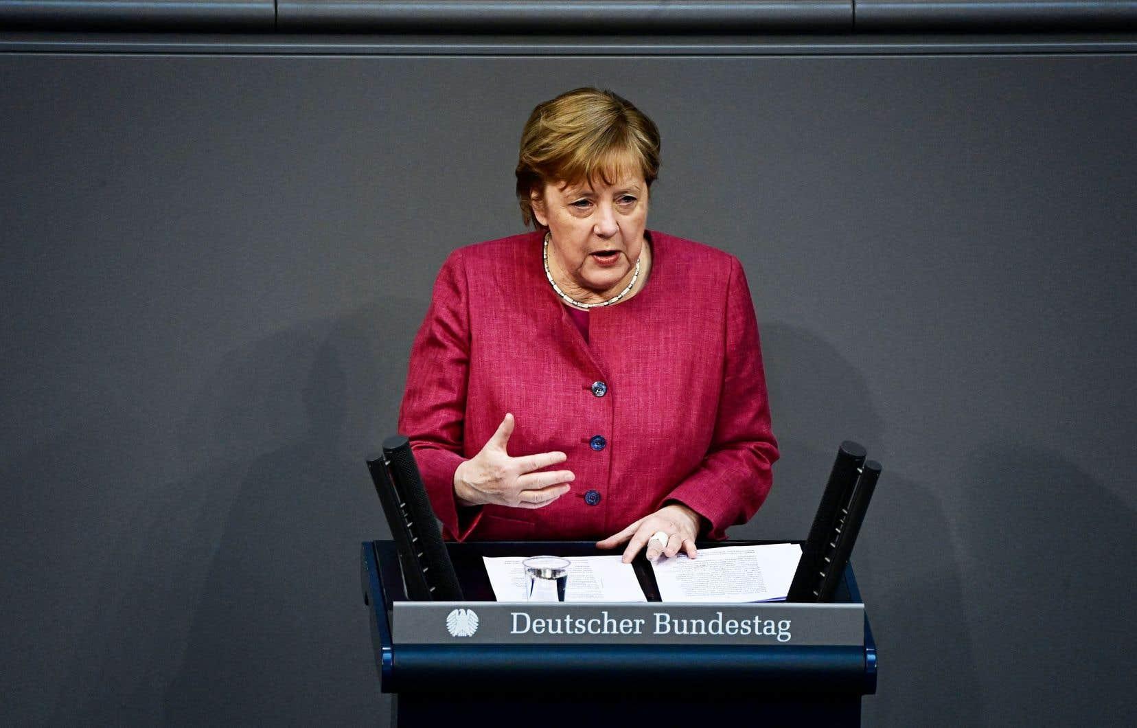 Le parti de Mme Angela Merkel a clairement évoqué les verts comme sa principale cible.